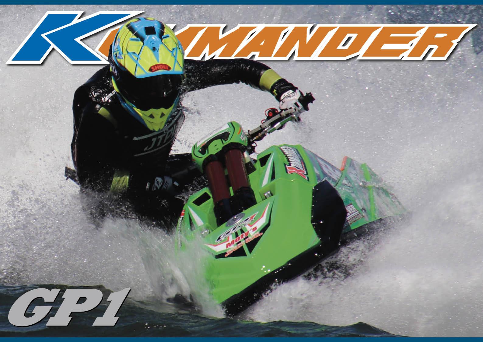 今、超話題の「KOMMANDER(コマンダー)GP1」試乗しました ジェットスキー(水上バイク)