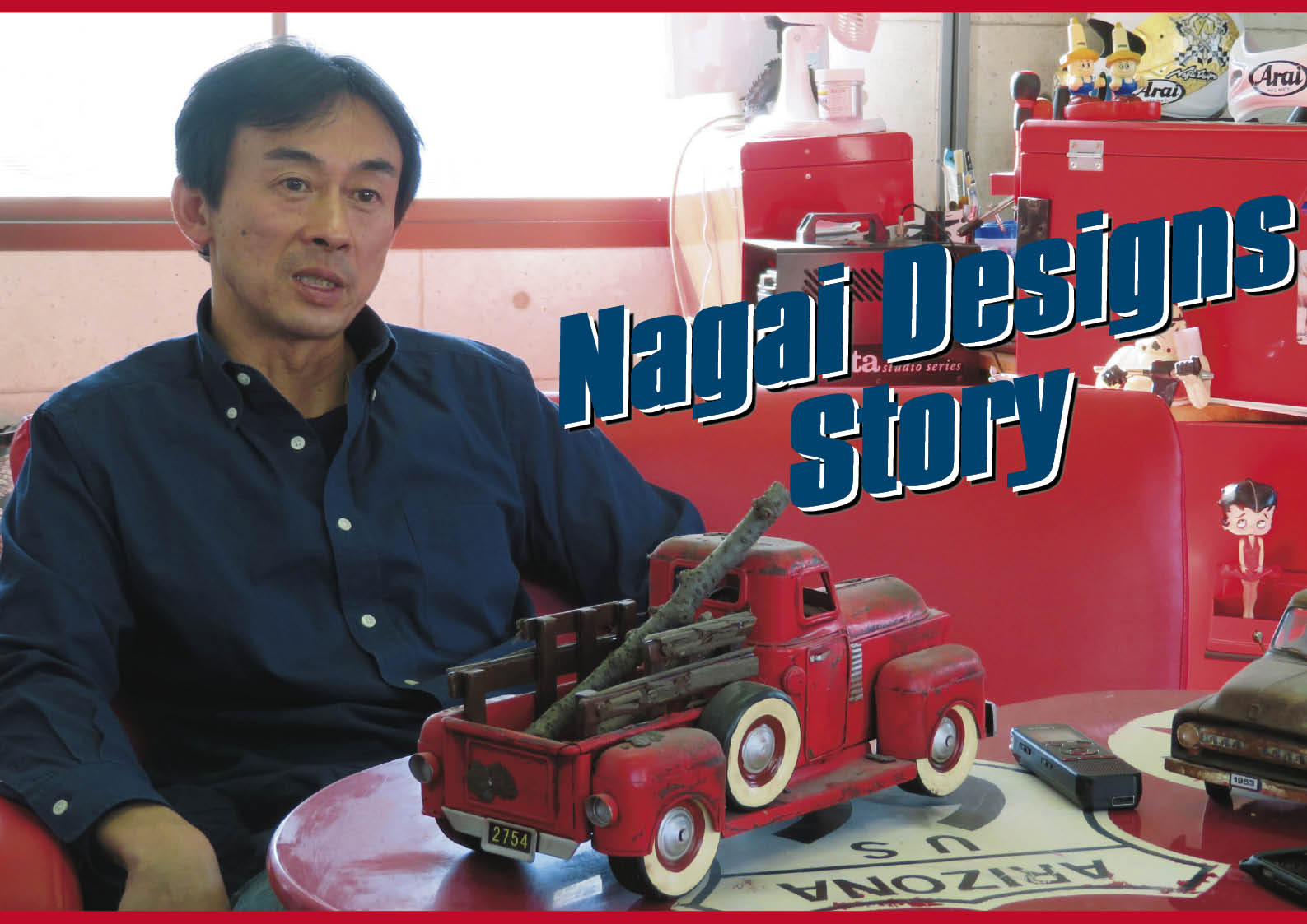 ヘルメットペイントの第一人者 ナガイデザイン代表 長井崇氏 インタビュー  1/2 ジェットスキー(水上バイク)