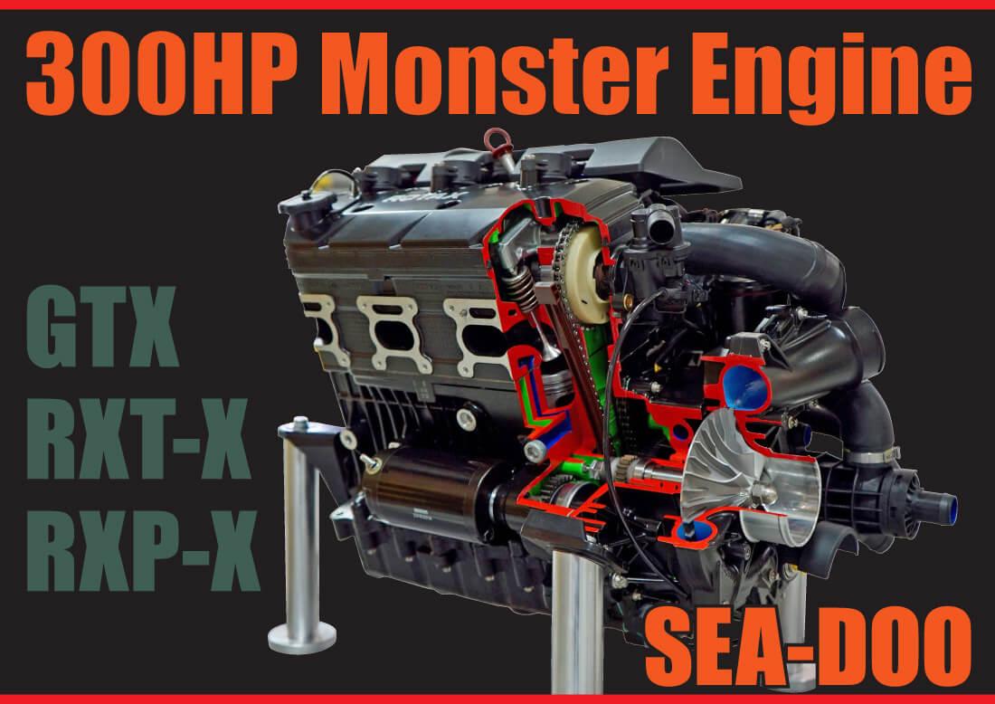 BRP SEA-DOOエンジン・インテリジェンスモンスター