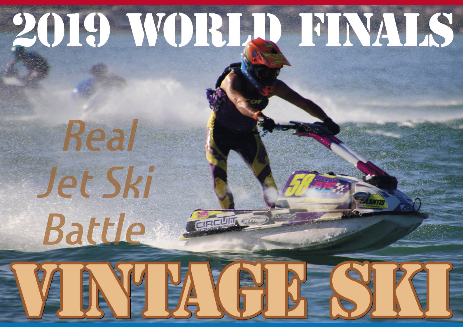ジェットスポーツの原点 ヴィンテージスキークラス 2019年 ワールドファイナル ジェットスキー(水上バイク)のメジャーレース