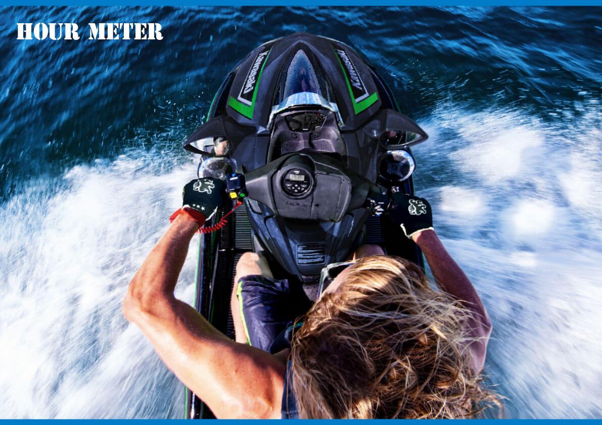 アワーメーターの意味を知っていますか? 「クルマは走行距離、ジェットはアワーメーター?」 ジェットスキー(水上バイク)