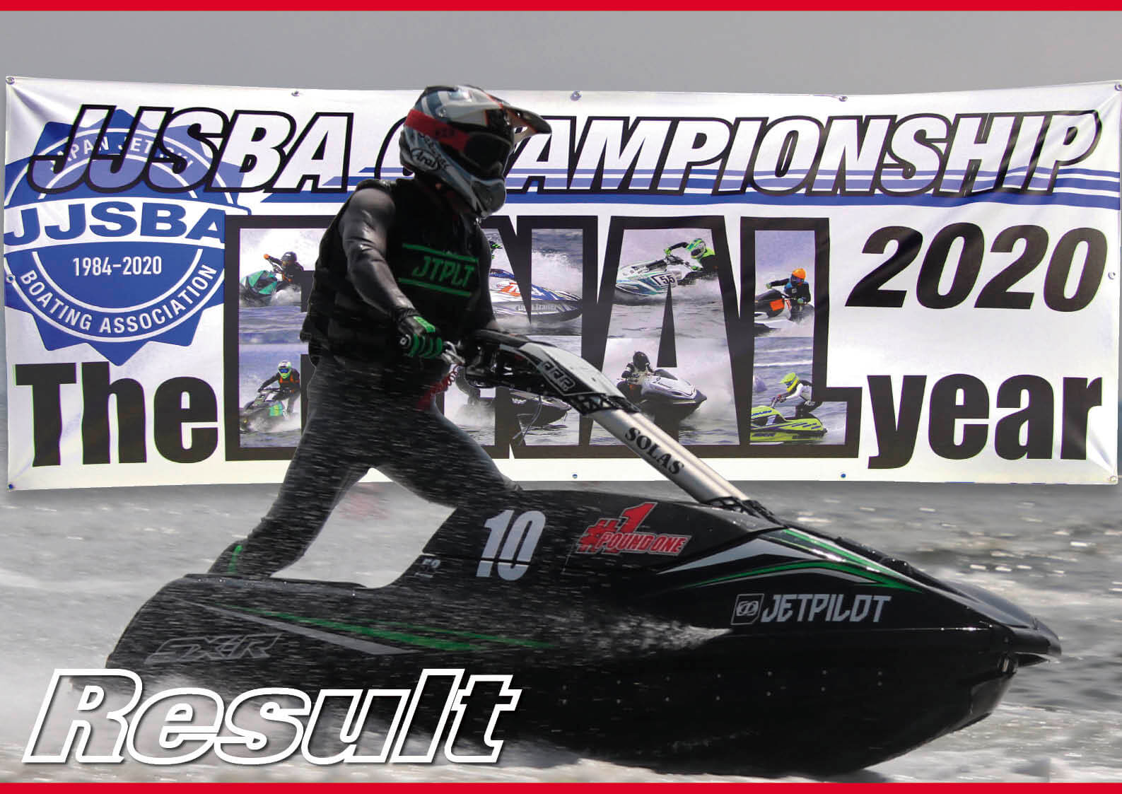 「Result」JJSBA 「THE LAST CHAMPIONSHIP」カワサキのワンメイクレース R-1、R-2のレース結果 ジェットスキー(水上バイク)