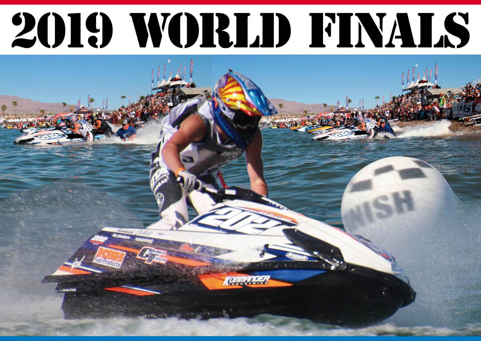 アリゾナの荒野で、世界最速の戦いが行われた 2019年 ワールドファイナル ジェットスキー(水上バイク)のメジャーレース