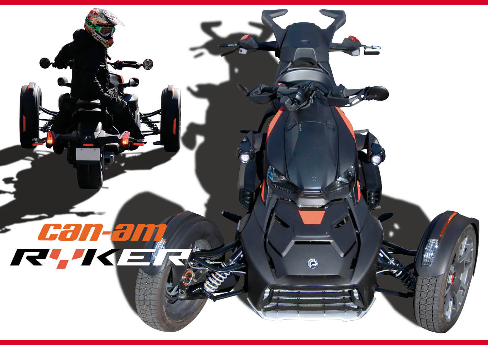 AT限定免許で乗れる 遊び心満載の3輪トライク BRP Can-Am Ryker(カンナム ライカー) ジェットスキー(水上バイク)