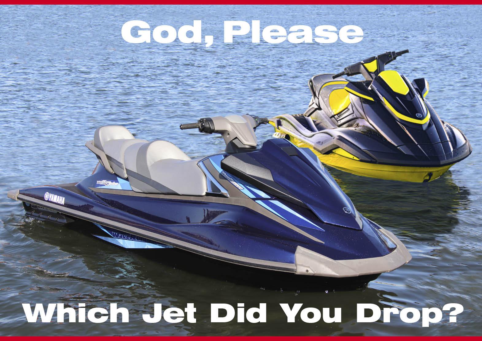 お前の落としたジェットはどちらだ? 冬の究極の選択 コラム ジェットスキー(水上バイク)