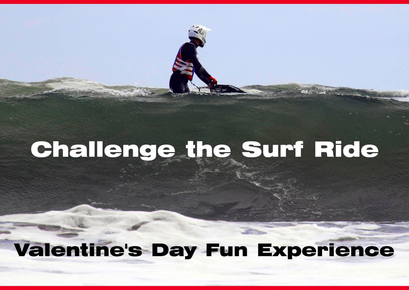 2021年、真冬の九十九里浜でサーフライドにチャレンジ! (水上バイク)ジェットスキー
