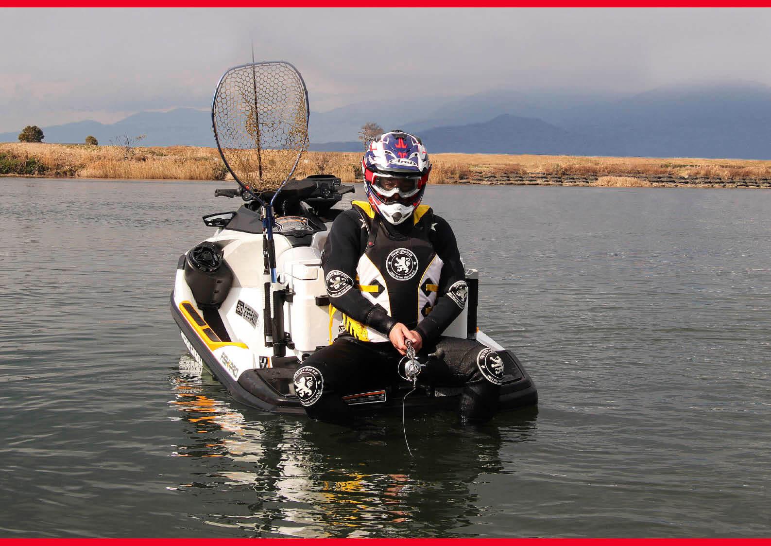ジェットフィッシングの落とし穴、密漁者と間違われると「逮捕」です ジェットスキー(水上バイク)