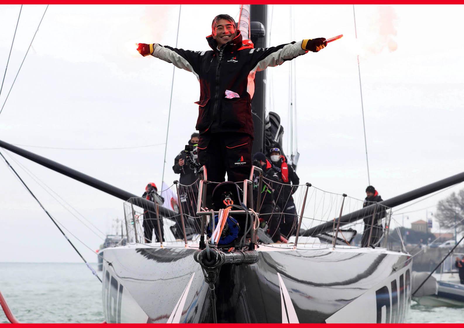 単独無寄港世界一周を果たした白石康次郎さんが「MJCマリン賞2021大賞」に決定しました ジェットスキー(水上バイク)