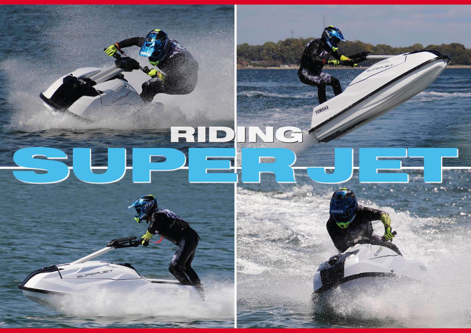 ②   2021 YAMAHA(ヤマハ) Super Jet(スーパージェット) スーパージェット開発秘話と歴史を紹介 水上バイク(ジェットスキー)