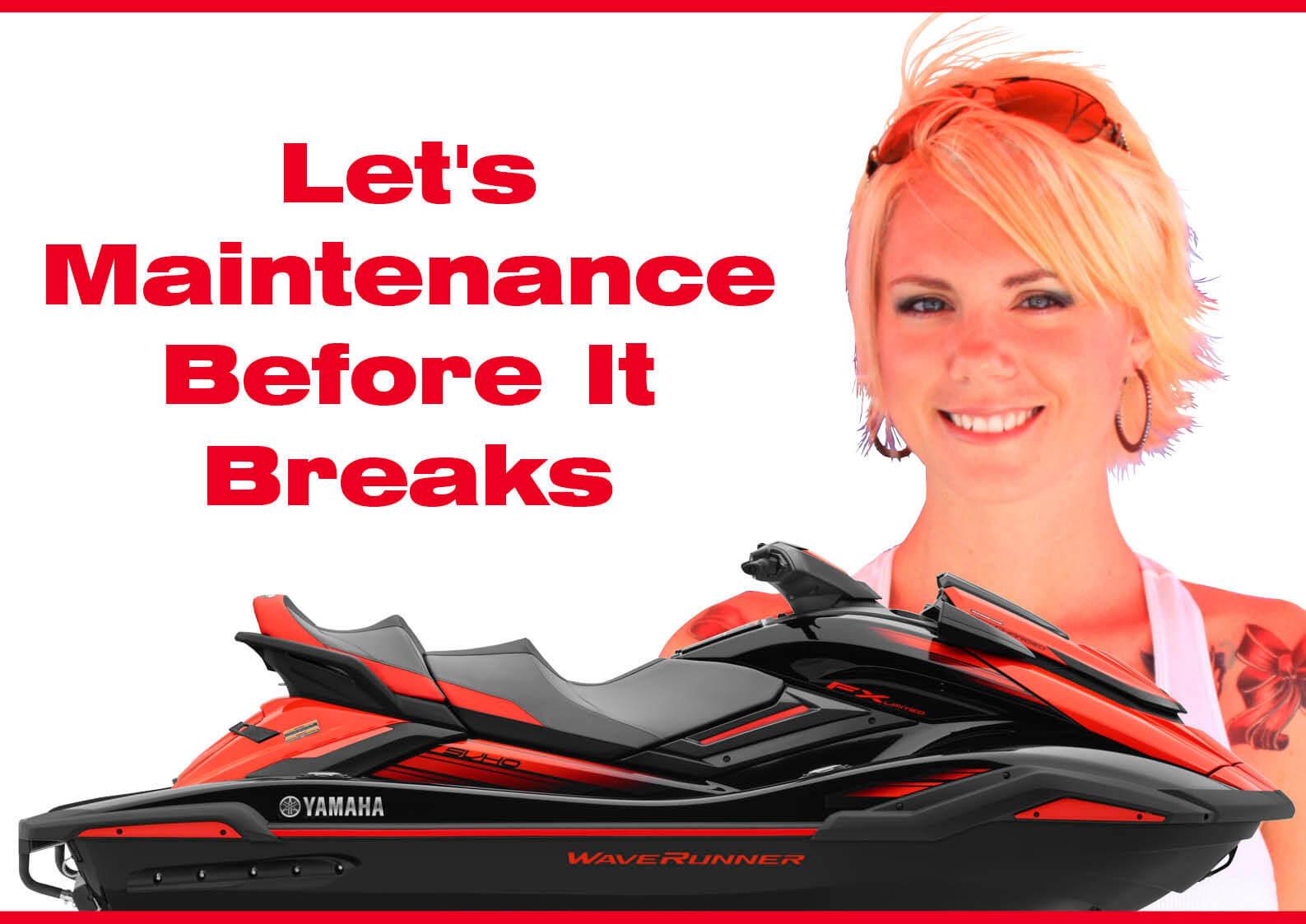 ジェットスキーは壊れてから修理に出すと高い。壊れる前にメンテナンスをしておこう (水上バイク)
