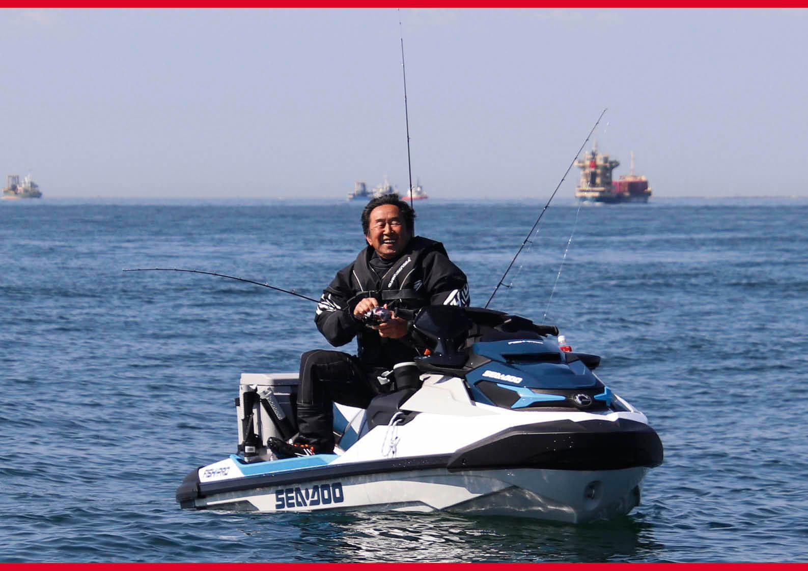 ジェット(水上バイク)で魚を釣る ジェットフィッシングのススメ ジェットスキー(水上バイク)