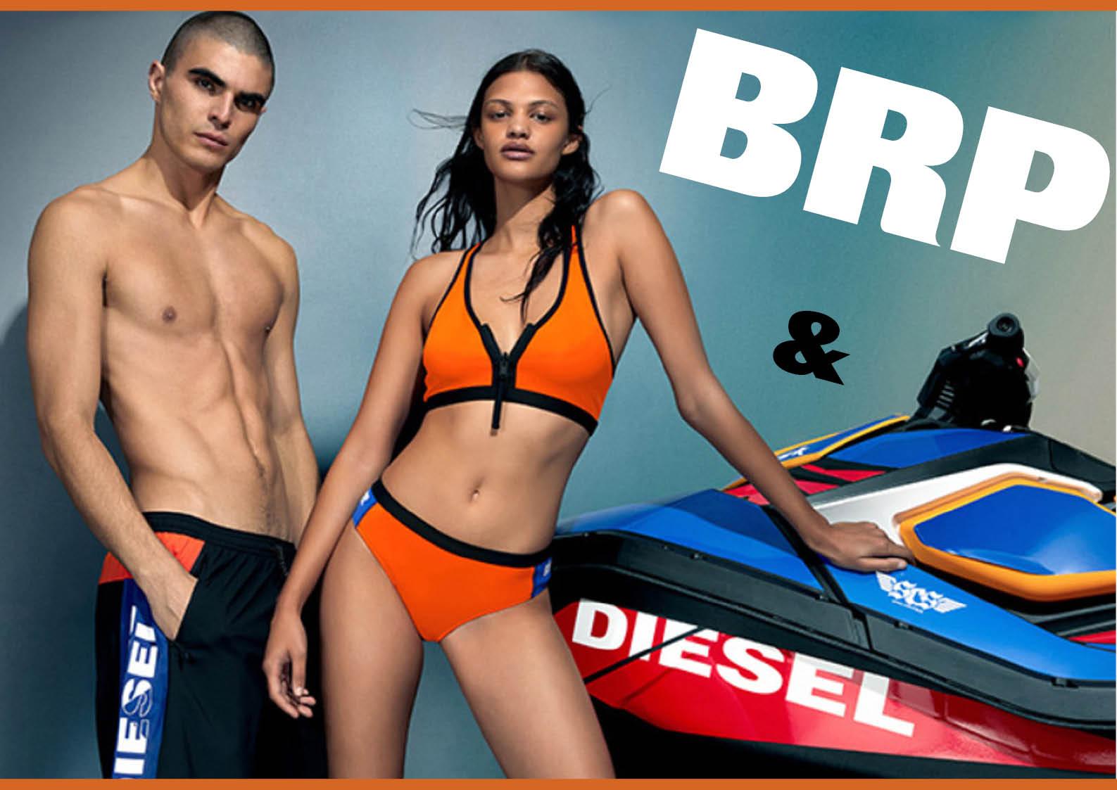 シードゥ(SEA-DOO)と、ファッションブランド「ディーゼル」がコラボ ビーチウエアが登場! ジェットスキー(水上バイク)