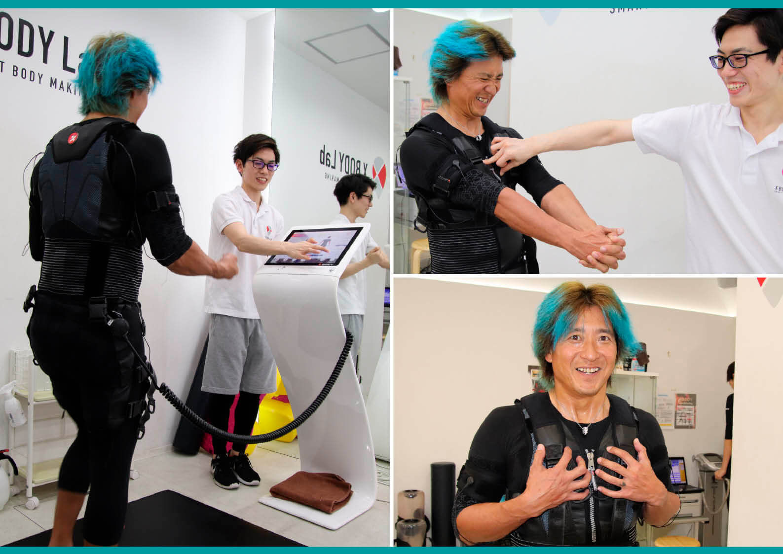 今、流行りの「電流を流して筋肉を刺激するEMSトレーニング」、やってみた【3】