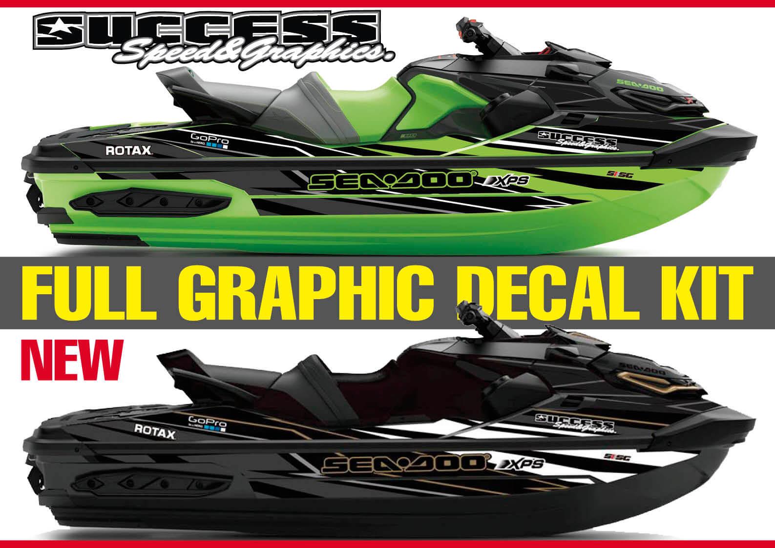 【新製品】サクセススピード&グラフィックス 新しいグラフィックデカール発売  ジェットスキー(水上バイク)