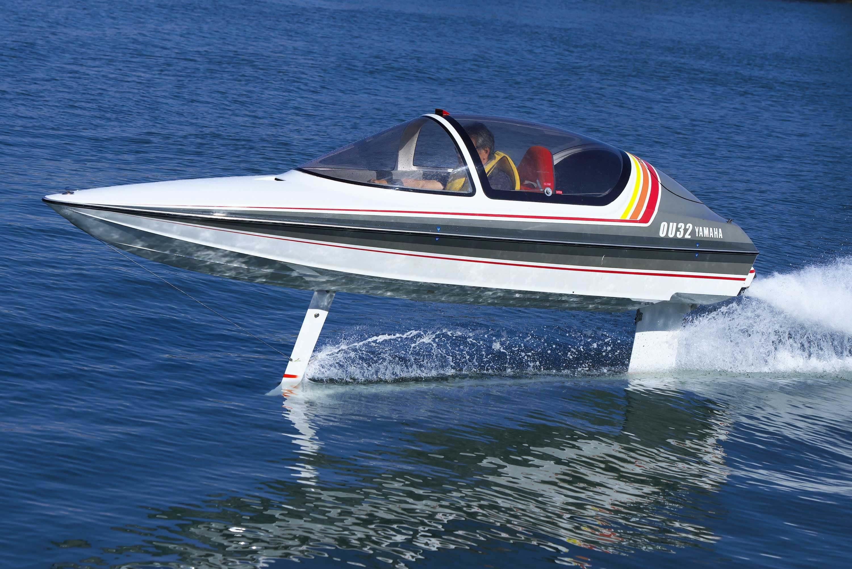 ヤマハ 30年を経て湖上に蘇った夢の「水中翼船」