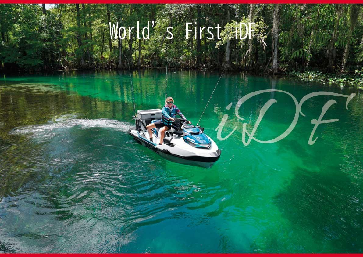 2021年 BRP SEA-DOO(シードゥ) もう水に潜らなくてもゴミが取れる!? 「iDF(異物除去ポンプシステム)」 [日本語版]・[オフィシャル動画] が見られます(水上バイク)ジェットスキー