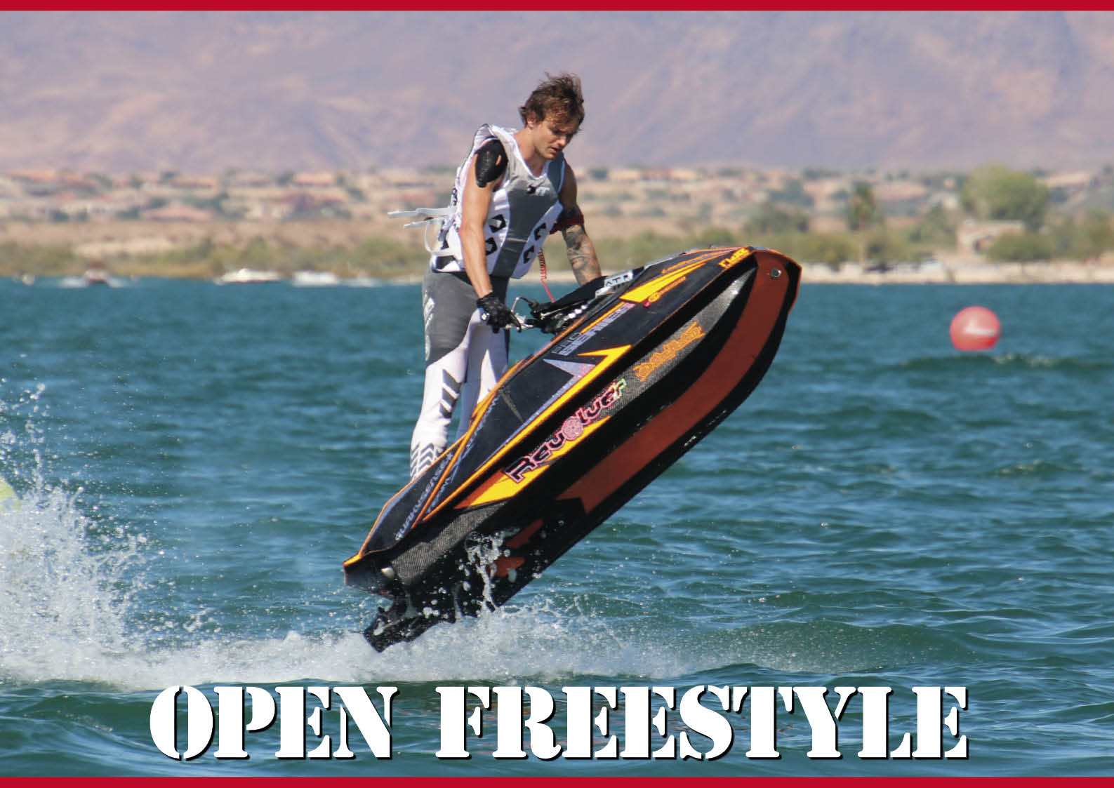 【フリースタイル競技】「OPENフリースタイル」参加者募集 ジェットスキー(水上バイク)
