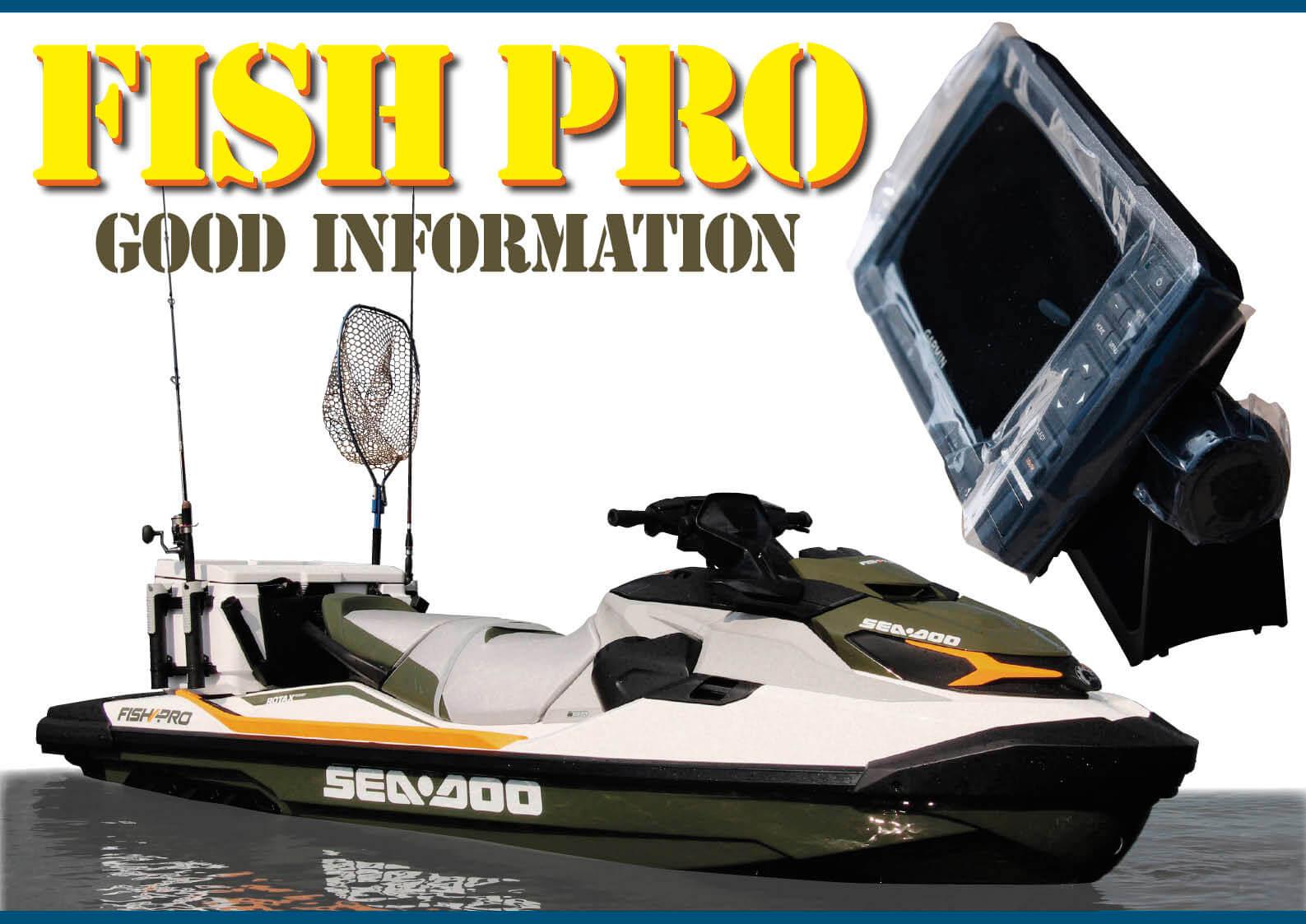 シードゥFISH PROの魚群探知機 何で日本語がないの? と思った方に朗報! ジェットスキー(水上バイク)