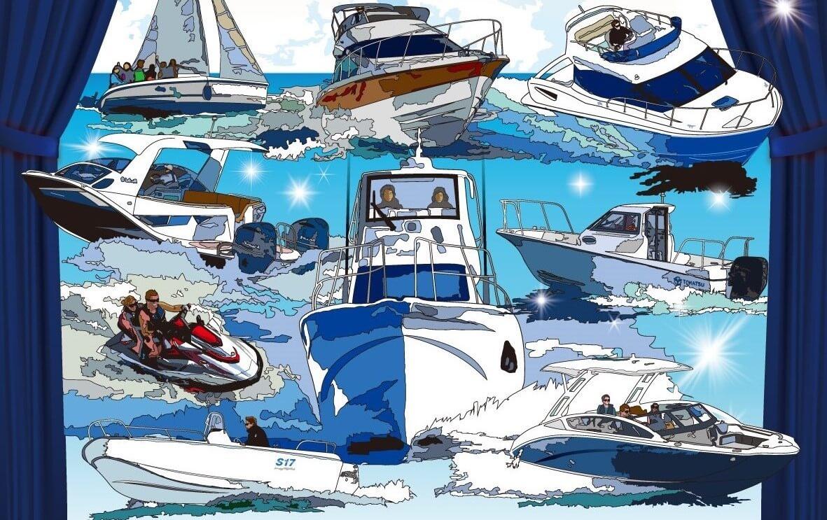 九州地方最大級のボートイベント「九州ボートショー」開催中止 ジェットスキー(水上バイク)