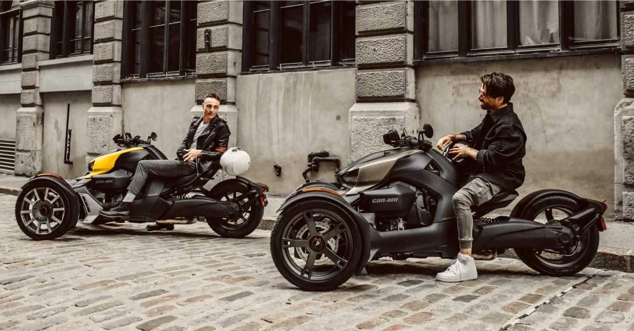【キャンペーン】クルマでも、バイクでもない。一見、不思議な3輪車 この秋限定のBRP「Can-Am Ryker 低金利0.9%ローン」実施中