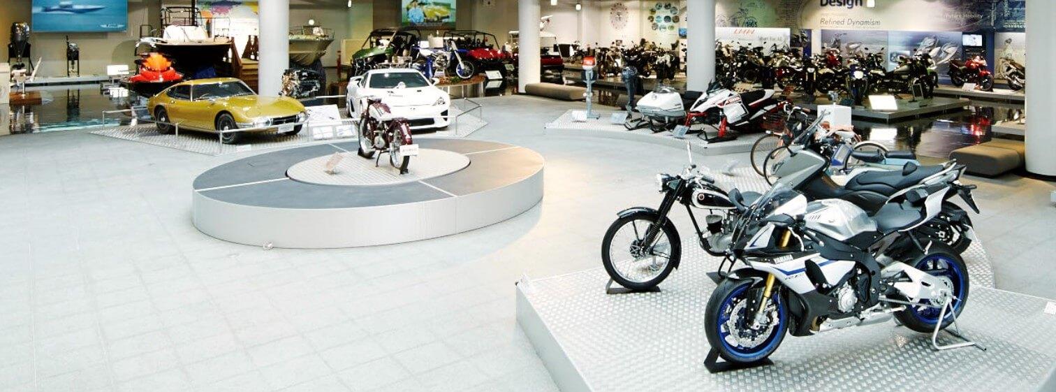 ヤマハの企業ミュージアム「コミュニケーションプラザ」、7月6日より再開 ジェットスキー(水上バイク)